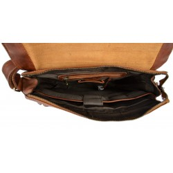 Leather doctor bag medical bag handbag ladies men leatherbag vintage dark brown